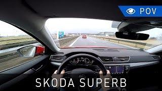Škoda Superb 1.4 TSI ACT 150 KM DSG (2016) - POV Drive | Project Automotive