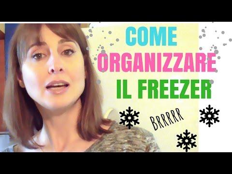 Come organizzare il freezer