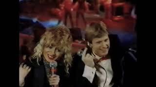 Debbie Harry And Chris Stein Of Blondie NYE MTV 1982