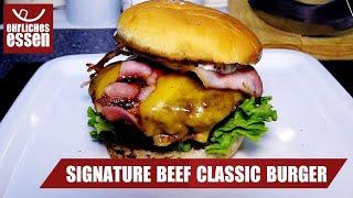 REZEPT: SIGNATURE CLASSIC BEEF BURGER von MCDONALDS - schnell und einfach selber machen! - Video Youtube