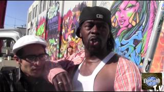 OVASEAZ T.V with RAPPIN 4-TAY IN OAKLAND C.A