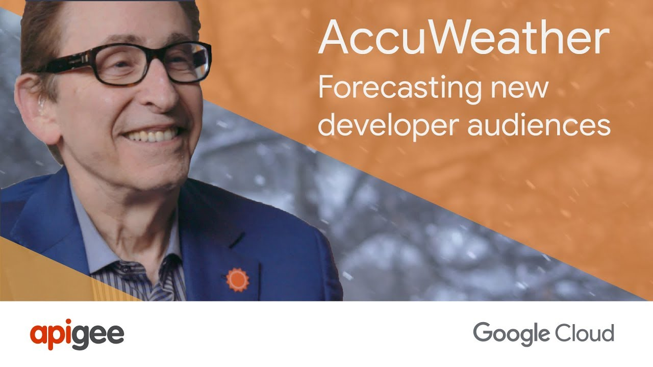 Youtube video AccuWeather: Forecasting New Developer Audiences with Apigee