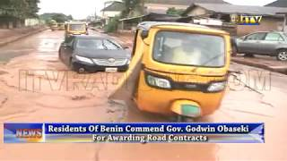 Benin residents commend Gov. Obaseki for awarding road contracts