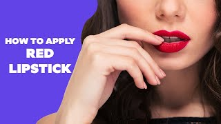 Image for video on How To Get Perfect Red Lips - All Things Makeup by Be Beautiful