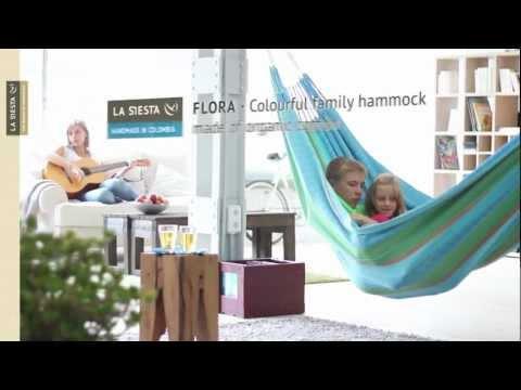 La Siesta Flora family hammock