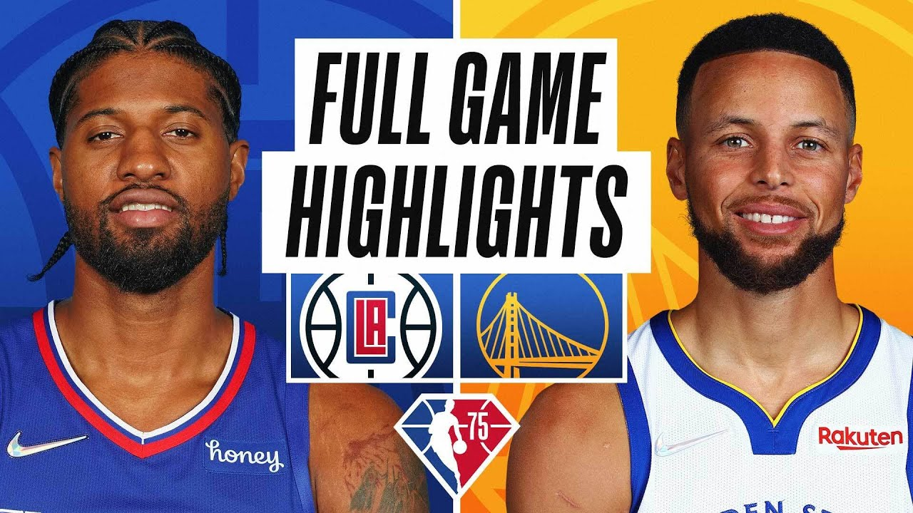 CLIPPERS at WARRIORS | FULL GAME HIGHLIGHTS | October 21, 2021