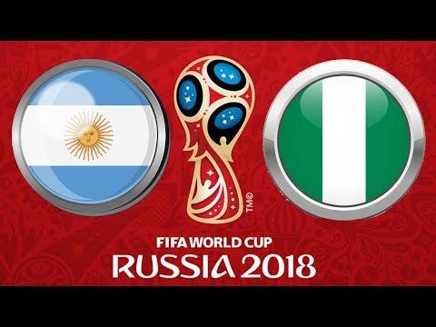 2018 FIFA World Cup Russia | ARGENTINA - NIGÉRIE | Poslední Zápas Ve Skupině | FIFA 18 | CZ/SK
