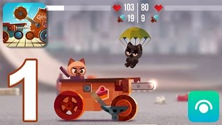 CATS: Crash Arena Turbo Stars - Gameplay Walkthrough Part 1 - Stages 1-2 (iOS, Android)