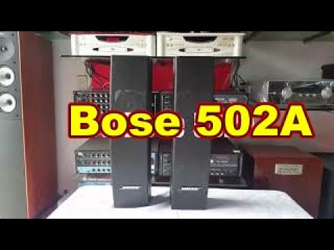 769Audio giới thiệu Loa bose 502a