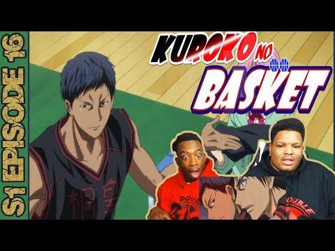 AOMINE IS LATE! | Kuroko No Basket Season 1 Episode 16 | Reaction