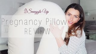 SNUGGLE UP 'U SHAPED' PREGNANCY PILLOW REVIEW | MAMA REID | AD*