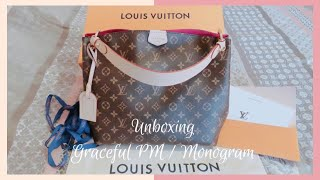 LOUIS VUITTON UNBOXING GRACEFUL PM MONOGRAM UNBOXING