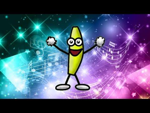 Танцующий банан... Танцует под разные песни. 5 песен для танцующего банана