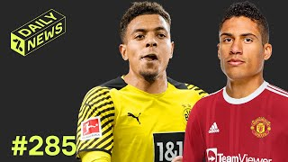 Varane CLOSE to Man United TRANSFER! + Dortmund BEAT Liverpool to Malen!