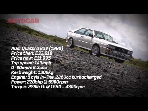 Audi TT RS meets Audi Quattro by autocar.co.uk