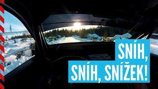 Mareš - Hloušek | Rally Sweden 2020 | pre-event test POV | Day 2