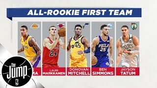 Paul Pierce, Stephen Jackson pick rookies with the highest ceiling | The Jump | ESPN - Video Youtube
