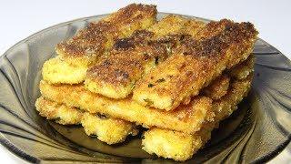 Плавленый сыр в панировке. Ну очень простой рецепт
