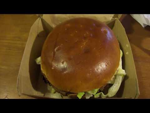 McDonald's White Garlic Cheddar Burger (BRAND NEW ITEM)