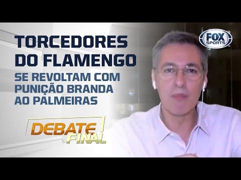 STJD PEGOU LEVE COM O PALMEIRAS POR CADEIRAS ARREMESSADAS CONTRA O FLAMENGO?