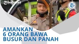 Wiki Trends - Polisi Bandung Amankan 6 Orang Bawa Busur dan Panah, Diduga Hendak ke Jakarta