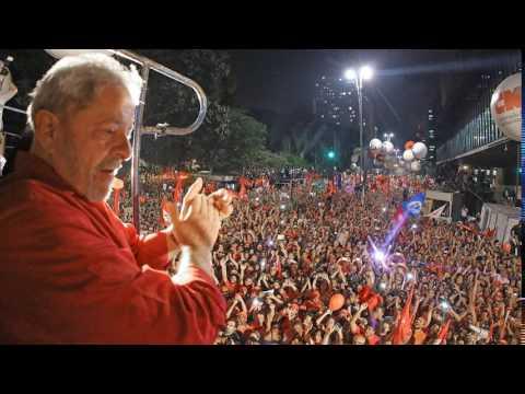 Lula na Avenida Paulista dia 10 de Junho de 2106