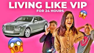 LIVING LIKE VIP for 24 Hours   Rimorav Vlogs