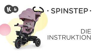 Wie wird das SPINSTEP-Dreirad von Kinderkraft aufgebaut? Montageanleitung