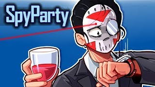 Spy Party - WHO IS CARTOONZ? (Spy VS Spy) 1v1
