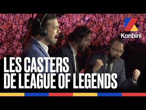 Profession : commentateur d'esport | Finale des Worlds de League of Legends 2019 | Konbini