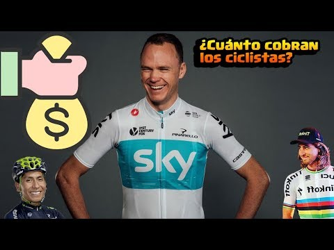 ¿Cuanto cobra un ciclista profesional?, y top 6 de ciclistas mejor pagados