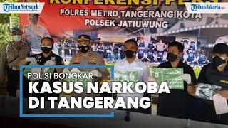 Polisi Bongkar Peredaran Sabu Kemasan Paket Hemat di Tangerang, Dikirim dari Bogor