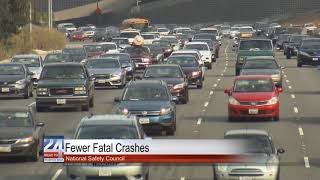 Fewer Fatal Crashes According to the National Safety Council