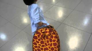 Charlotte - Pulling baggage
