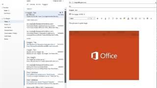 CGNET Tutorials: Outlook Web App in Office 365 - 2014