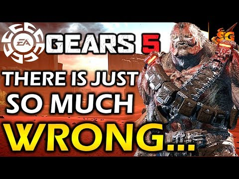 GEARS 5 MULTIPLAYER IS INSULTING TO FANS! The Roster, Aim Assist, OP Lancers, Maps, Ranking, & MORE!