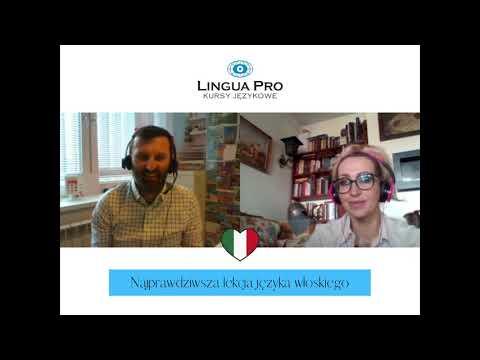 Kadr z filmu na youtube - Najprawdziwsza lekcja języka włoskiego 11_20 online