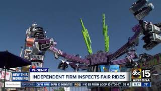 Independent firm inspecting Arizona State Fair rides for safety