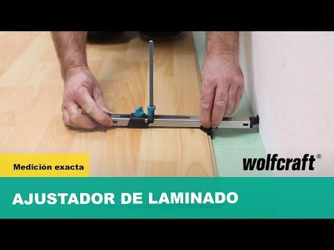 Ajustador de laminado Wolfcraft 6952000
