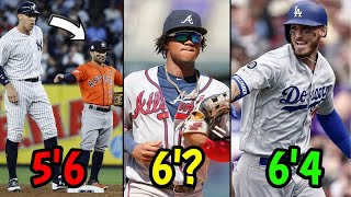 Best MLB Player At Every HEIGHT