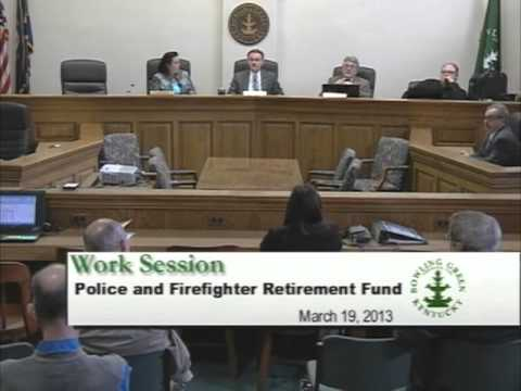 3/19/13 Board of Commissioners Work Session