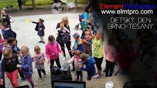 Video Diskotéka, Bubbleshow, Workshop - Dětský den Brno Těšany 2020 -