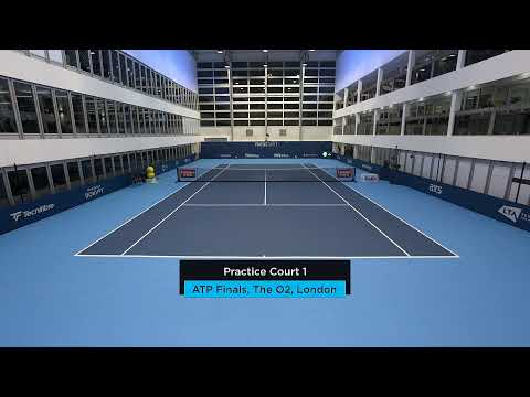 2019 Nitto ATP Finals: Live Stream Practice Court 1 (Monday)