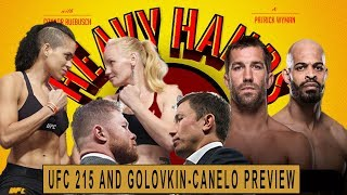 UFC 215 analysis and GGG vs Canelo (Heavy Hands #176)