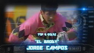 Top 6 - Jorge Campos (GOLES)