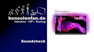 Soundcheck: Philips 55OLED903