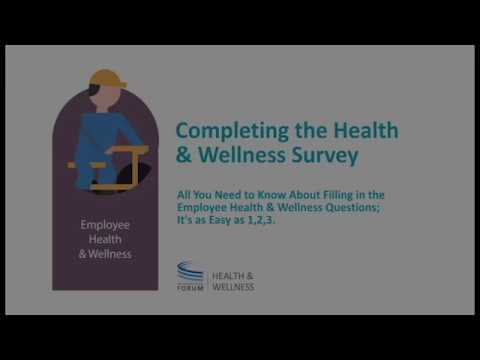 Employee Health and Wellness – Taking the CGF Health & Wellness Survey