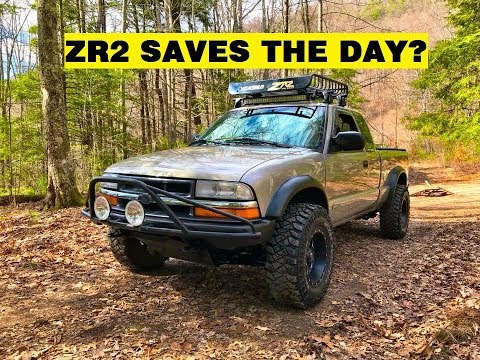 ZR2 S10 MORE OFF-ROAD ACTION WITH A RECOVERY! - Travis Campbell