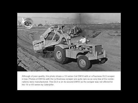 Classic Machines: Caterpillar DW10 scraper