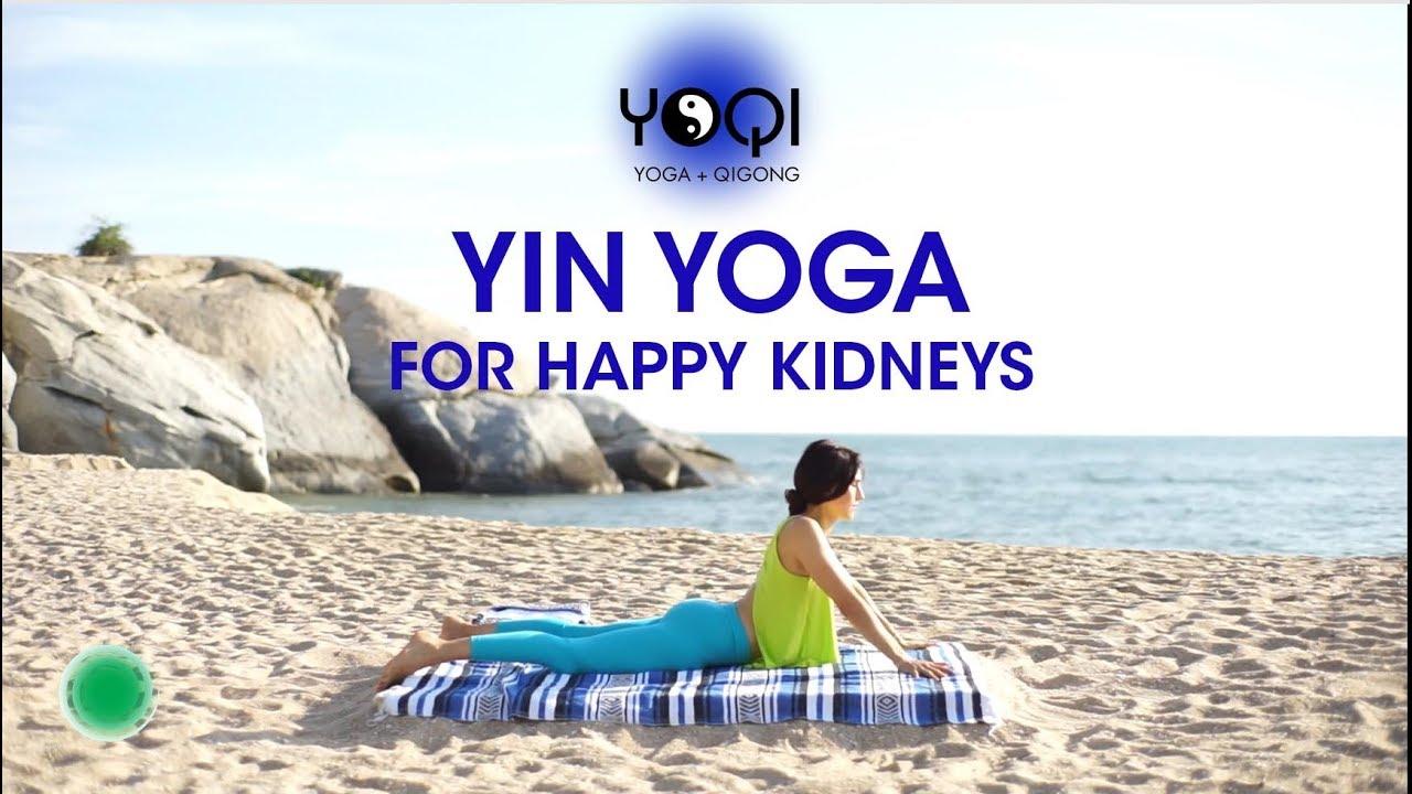 Yin Yoga for Happy Kidneys - YouTube